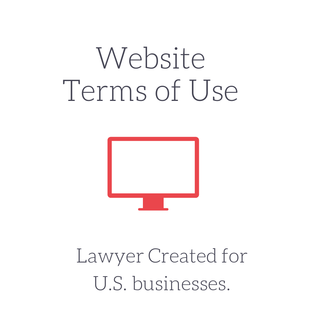 Terms Of Use: Website Terms Of Use