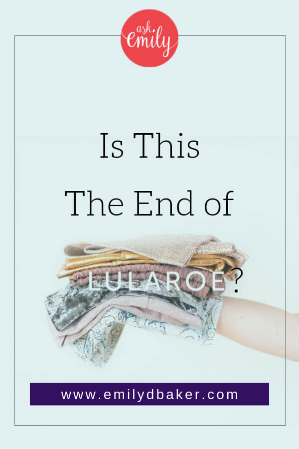 Have you heard about the LuLaRoe lawsuit? Could this be the end of LuLaRoe? I'm predicting a bankruptcy in the near future. Click through to read the details!