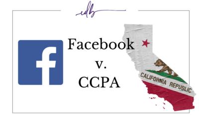 Facebook v. CCPA