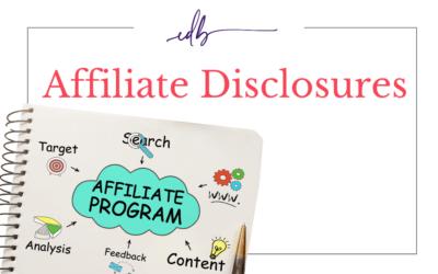 Understanding Affiliate Disclosures